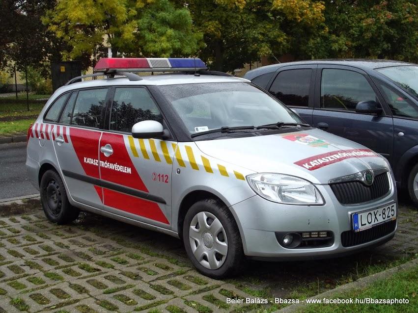 Skoda Fabia – Tűzoltóság több féle