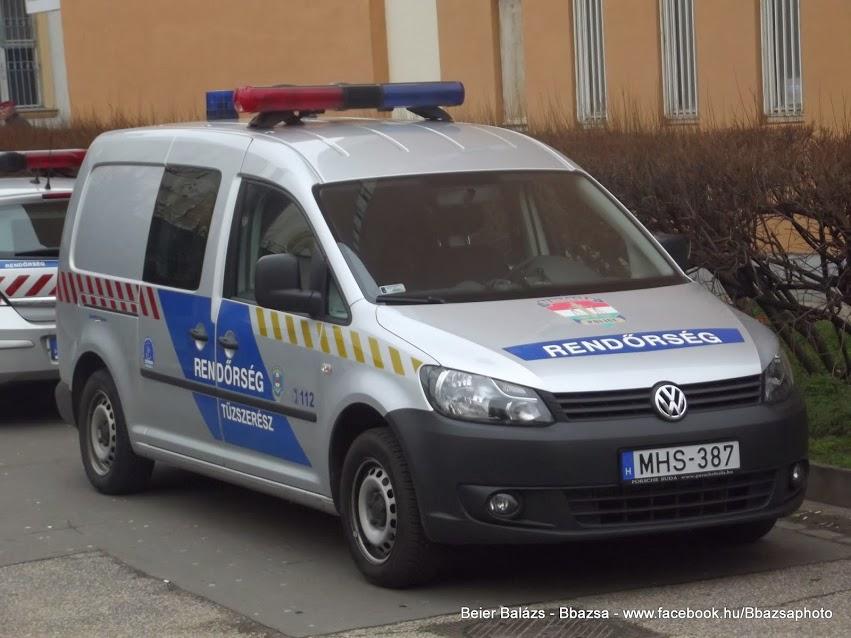 Volkswagen Caddy -KR tűzszerész
