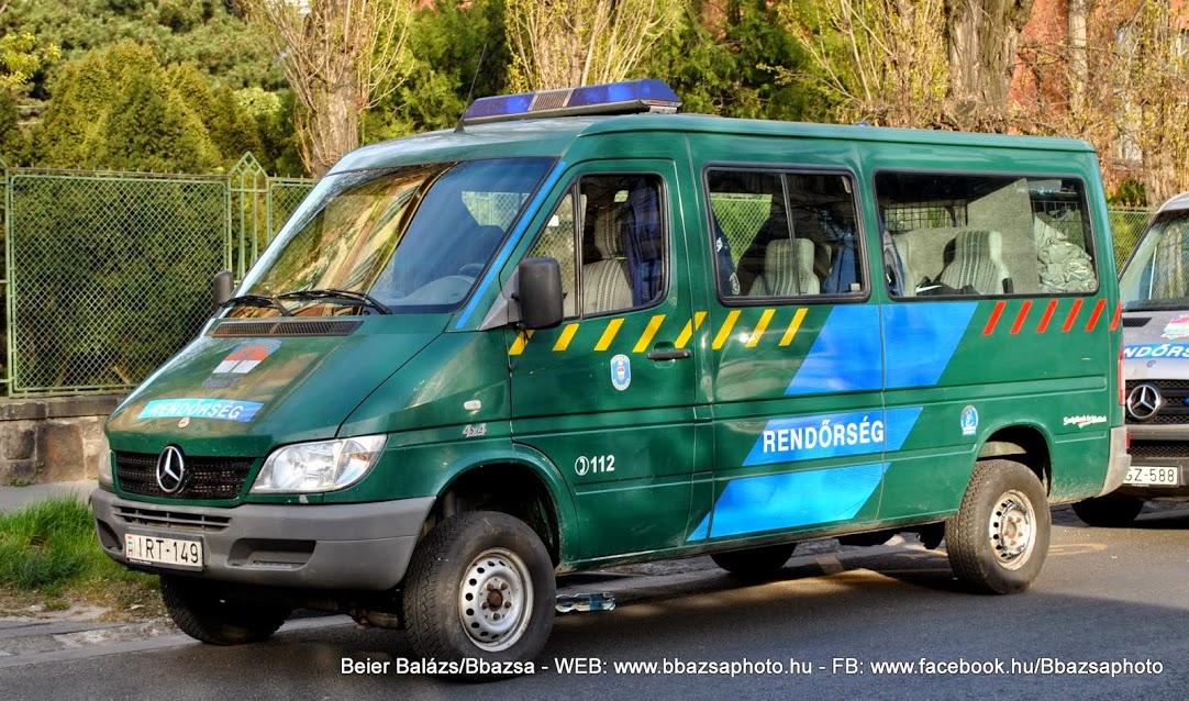 Mercedes Sprinter – volt Határőrség Code3