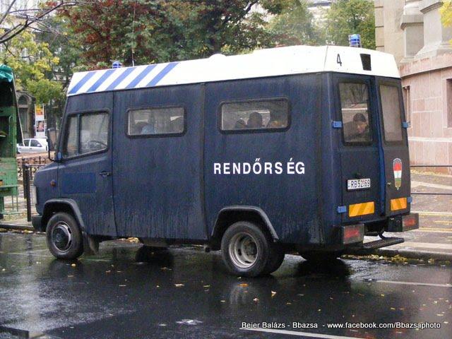 Mercedes ex Holland páncélozott