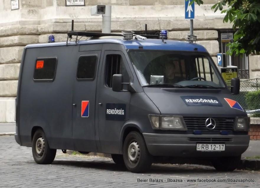 Mercedes Sprinter – volt Holland térfigyelő
