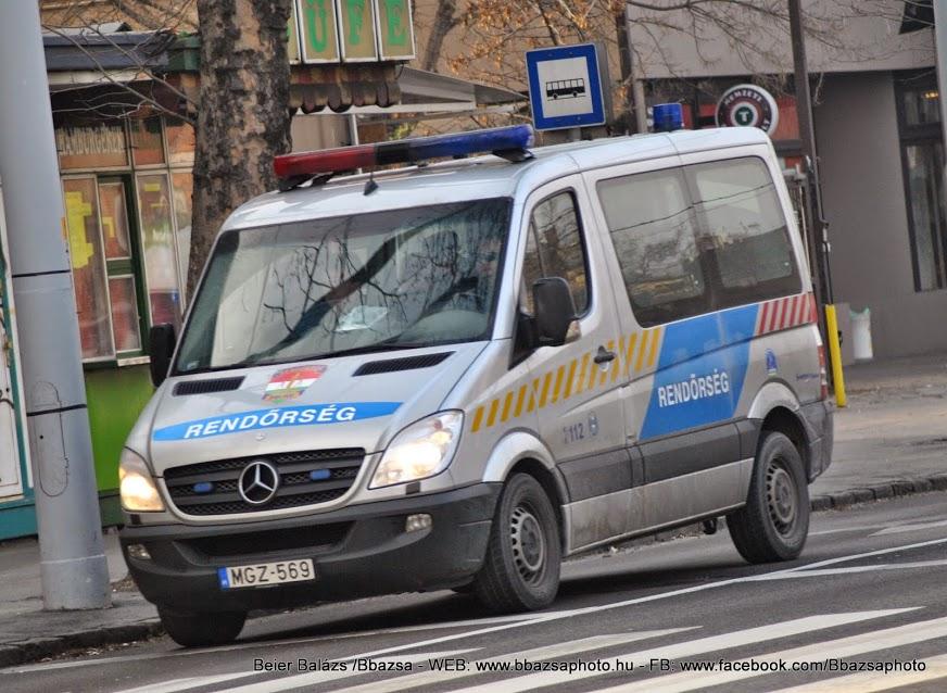 Mercedes Sprinter II 313 CDI – Készenléti Rendőrség