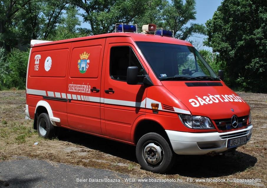 Mercedes Sprinter Műszaki mentő – Több féle