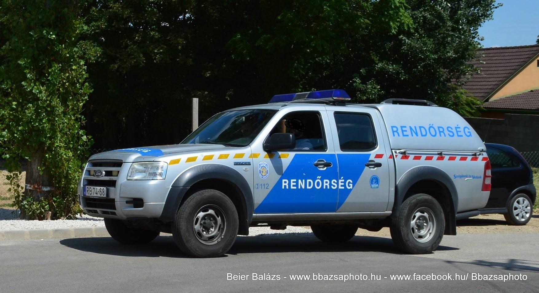 Ford Ranger – Police