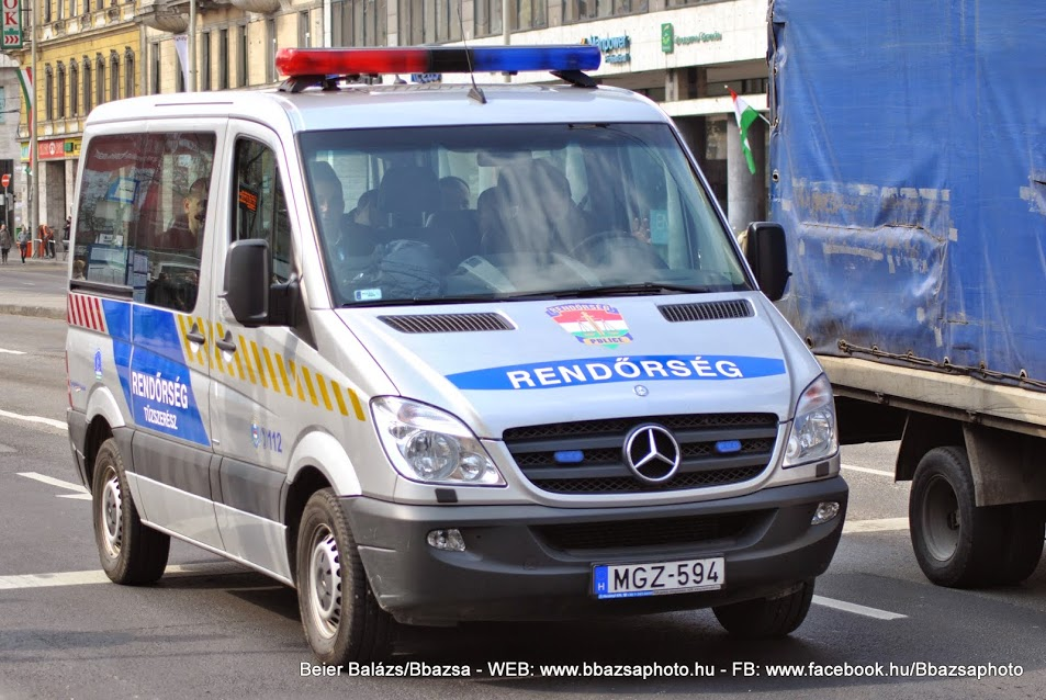 Mercedes Sprinter – KR tűzszerész