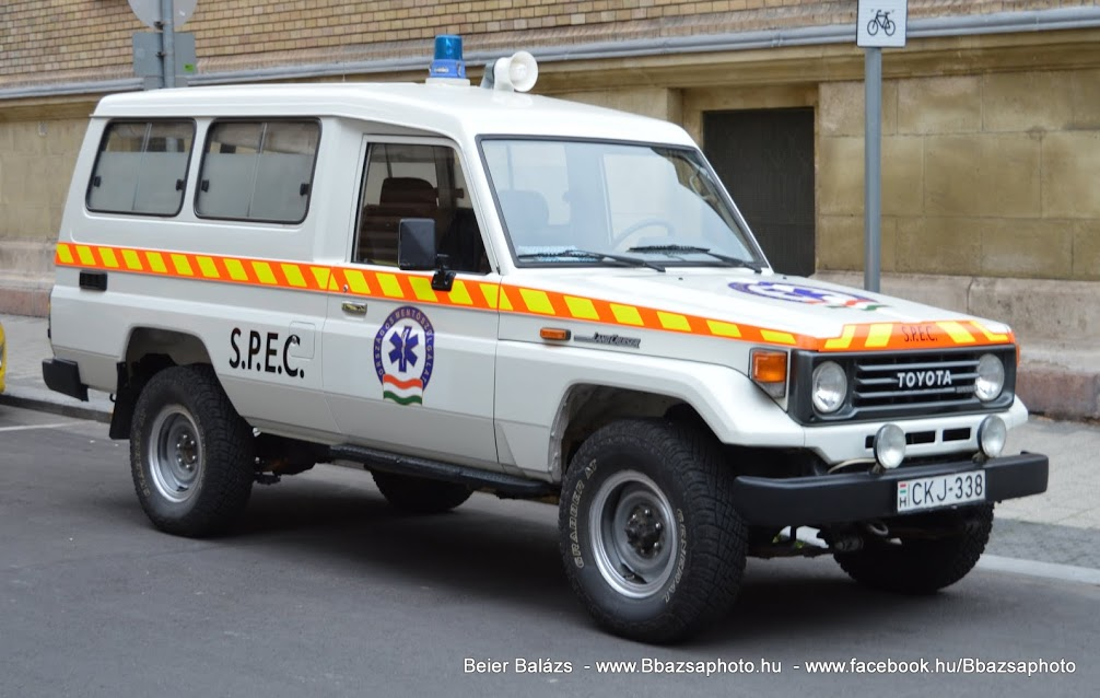 Toyota Land Cruiser 4WD – SPEC