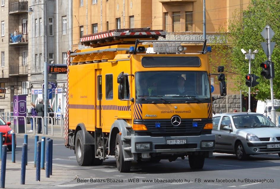 Mercedes Atego – BKV új