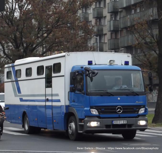 Mercedes Atego – BV több féle