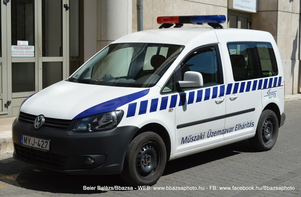 Volkswagen Caddy – BKV Federal új