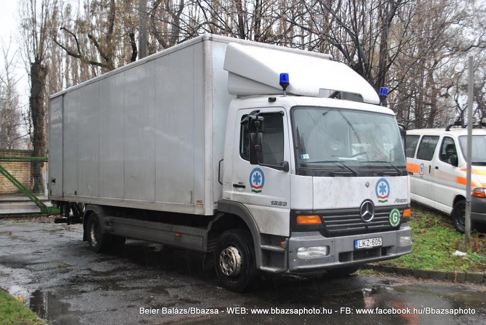 Mercedes Atego 1223 – OMSZ