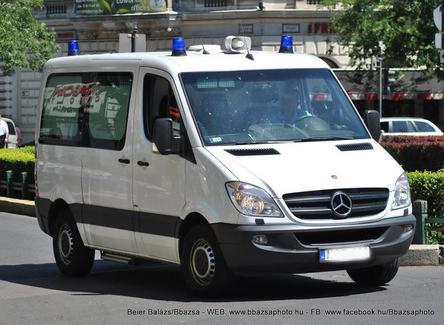 Mercedes Sprinter – eü szolgálat