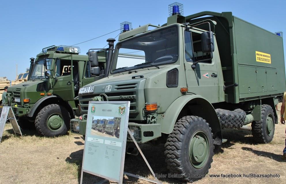 Mercedes Unimog II – Tűzszerész