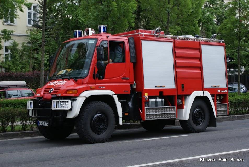 Mercedes Unimog Rosenbauer – Erdő