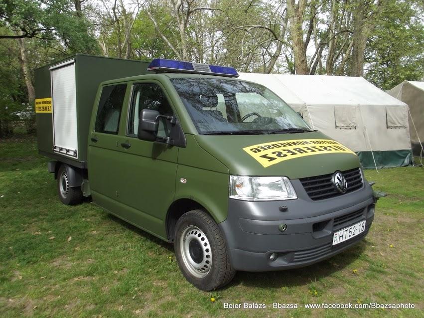 Volkswagen Transporter – Tűzszerész Currus