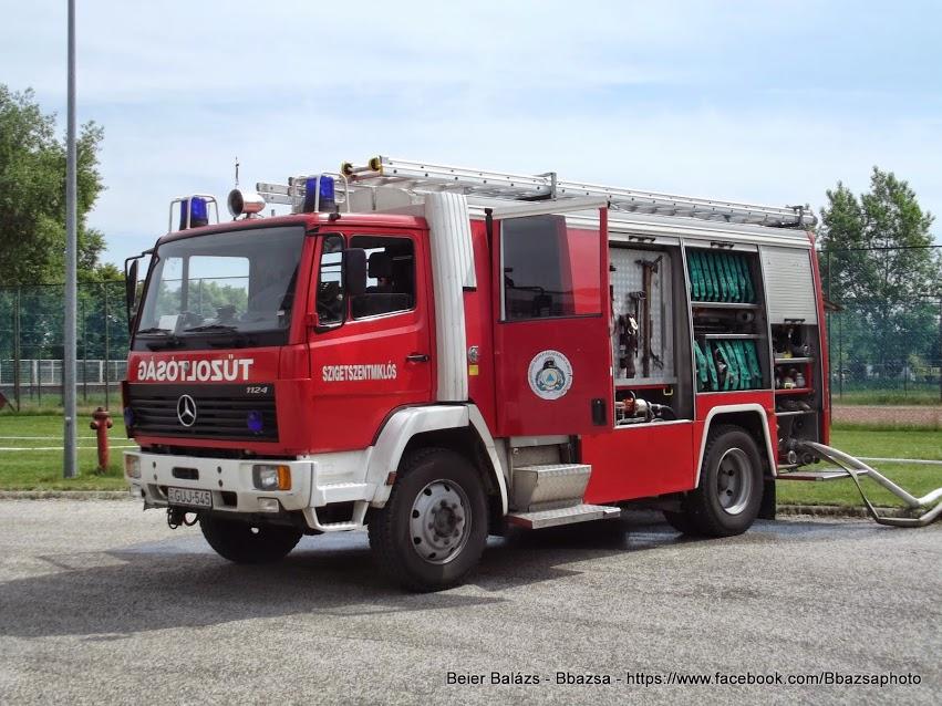 Mercedes 1124 Rosenbauer 2000