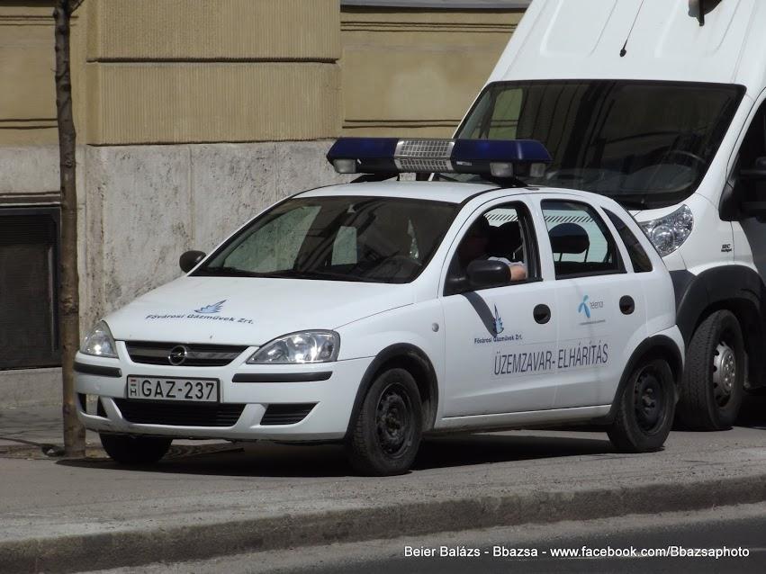 Opel Corsa – Gázművek
