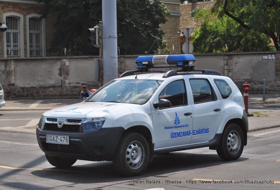 Dacia Duster – Gázművek