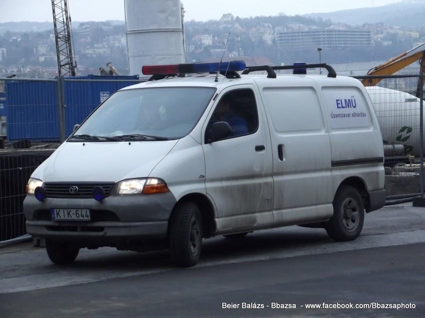 Toyota Hiace – ELMŰ 2 kivitel
