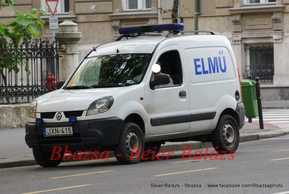 Renault Kangoo – ELMŰ