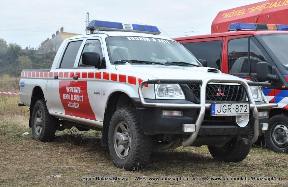 Mitsubishi L200 – Pécs speciális mentő