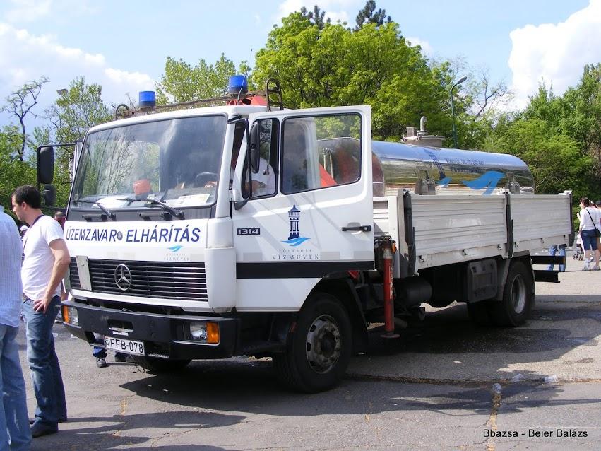 Mercedes 1314 – Vízművek