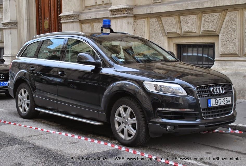 Audi Q7 – Delegációs
