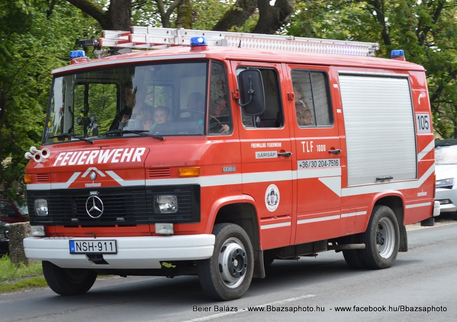 Mercedes 608D Rosenbauer – Sárisáp ÖTE