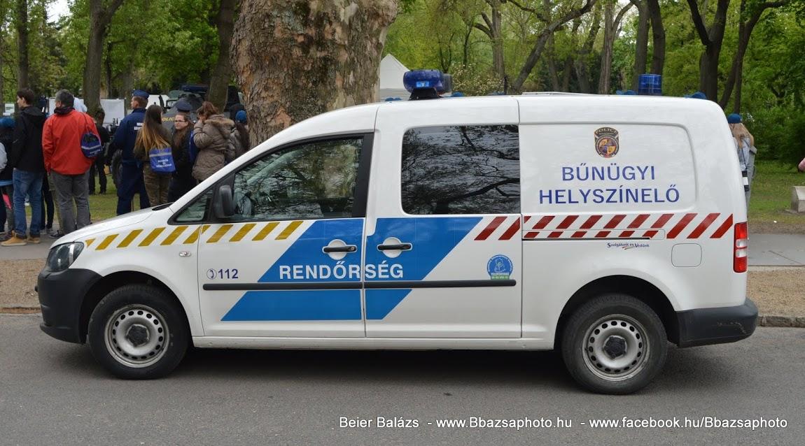 Volkswagen Caddy – Helyszínelő BAZ megye