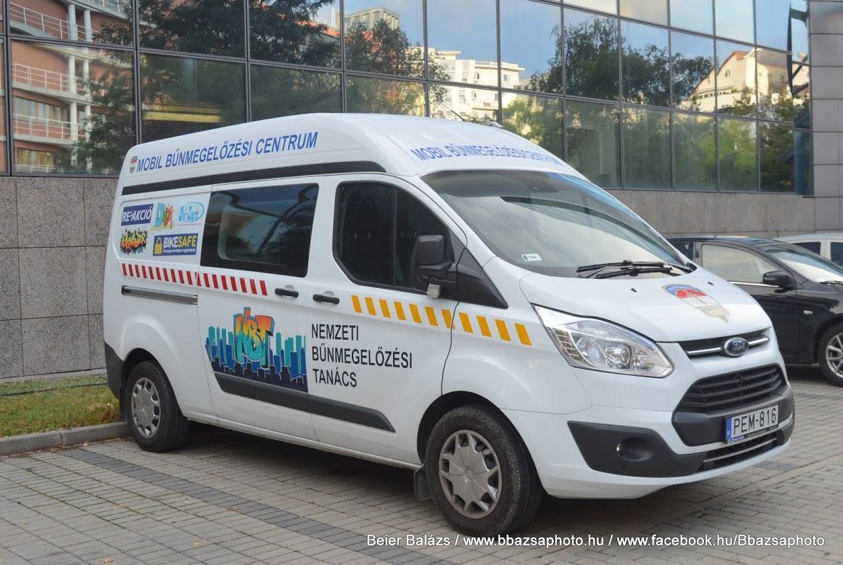 Ford Transit – Mobil Bűnmegelőzési Centrum