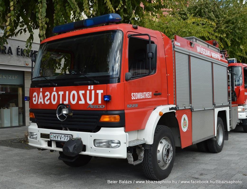 Mercedes Atego 1225 Bronto Saurus – Szombathely