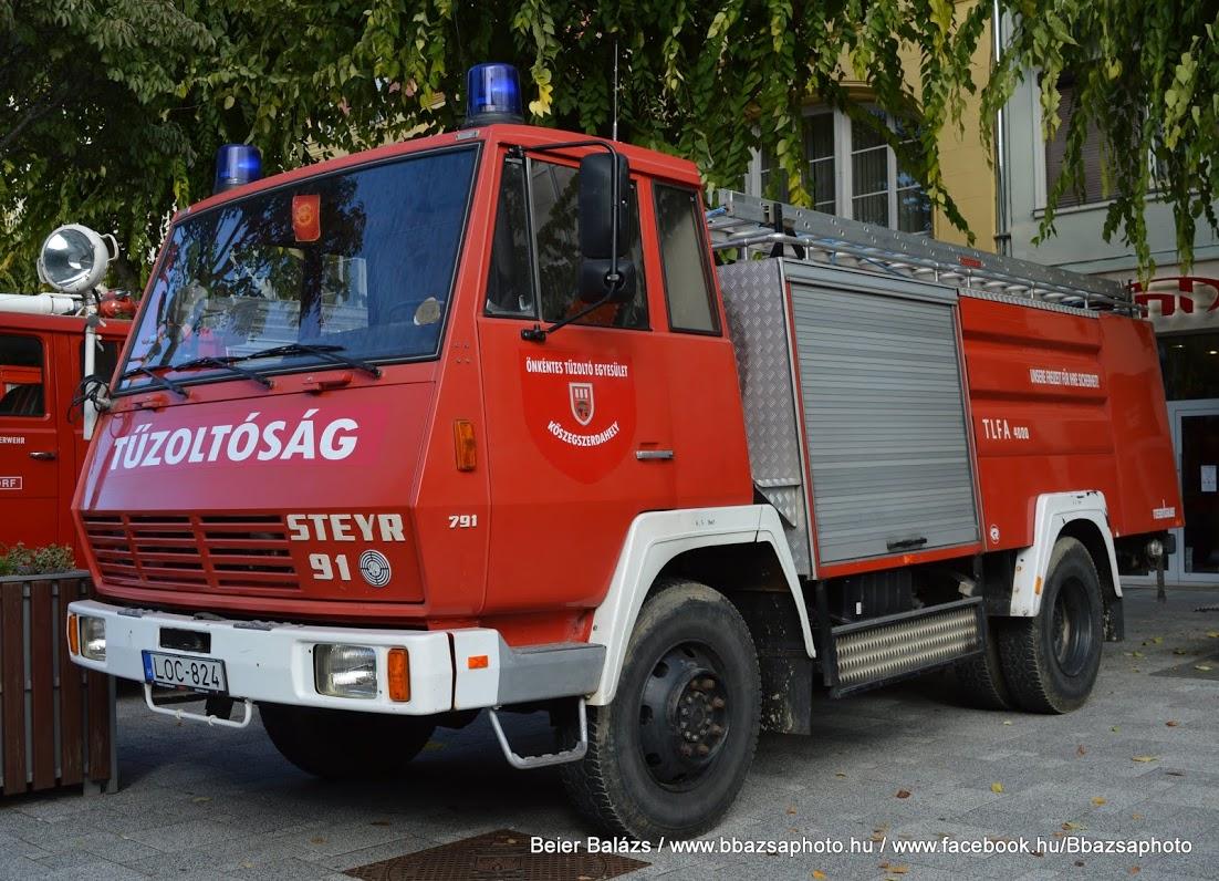 Steyr 791 – Kőszegszerdahely ÖTE