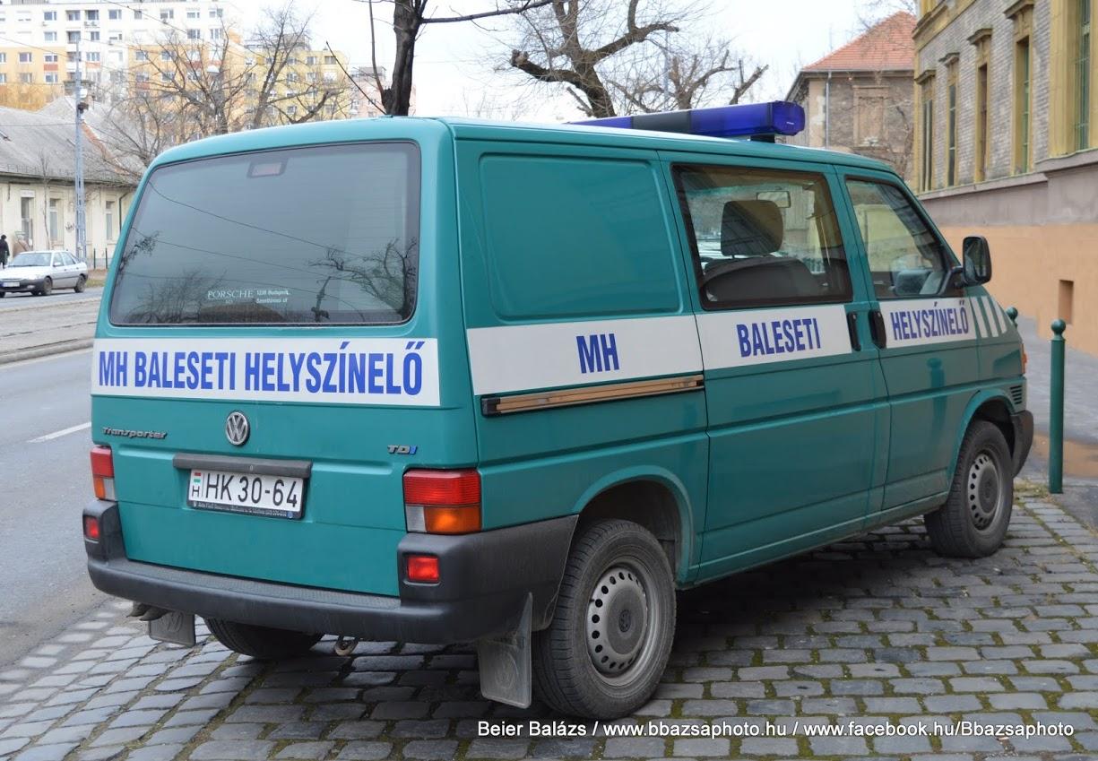 Volkswagen Transporter – Helyszínelő