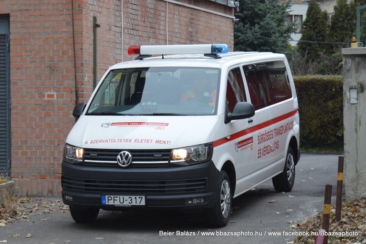 Volkswagen Transporter T6 (hosszú) OVSZ