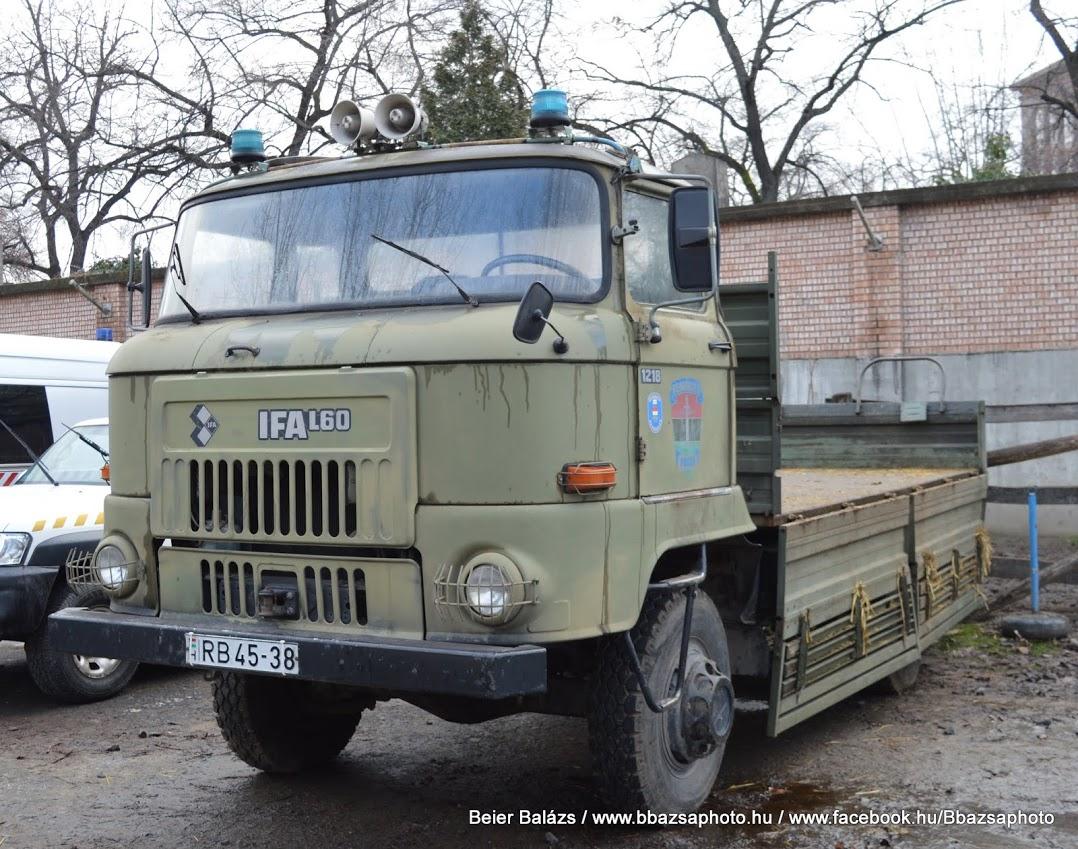 IFA L60 zöld Mosonyi