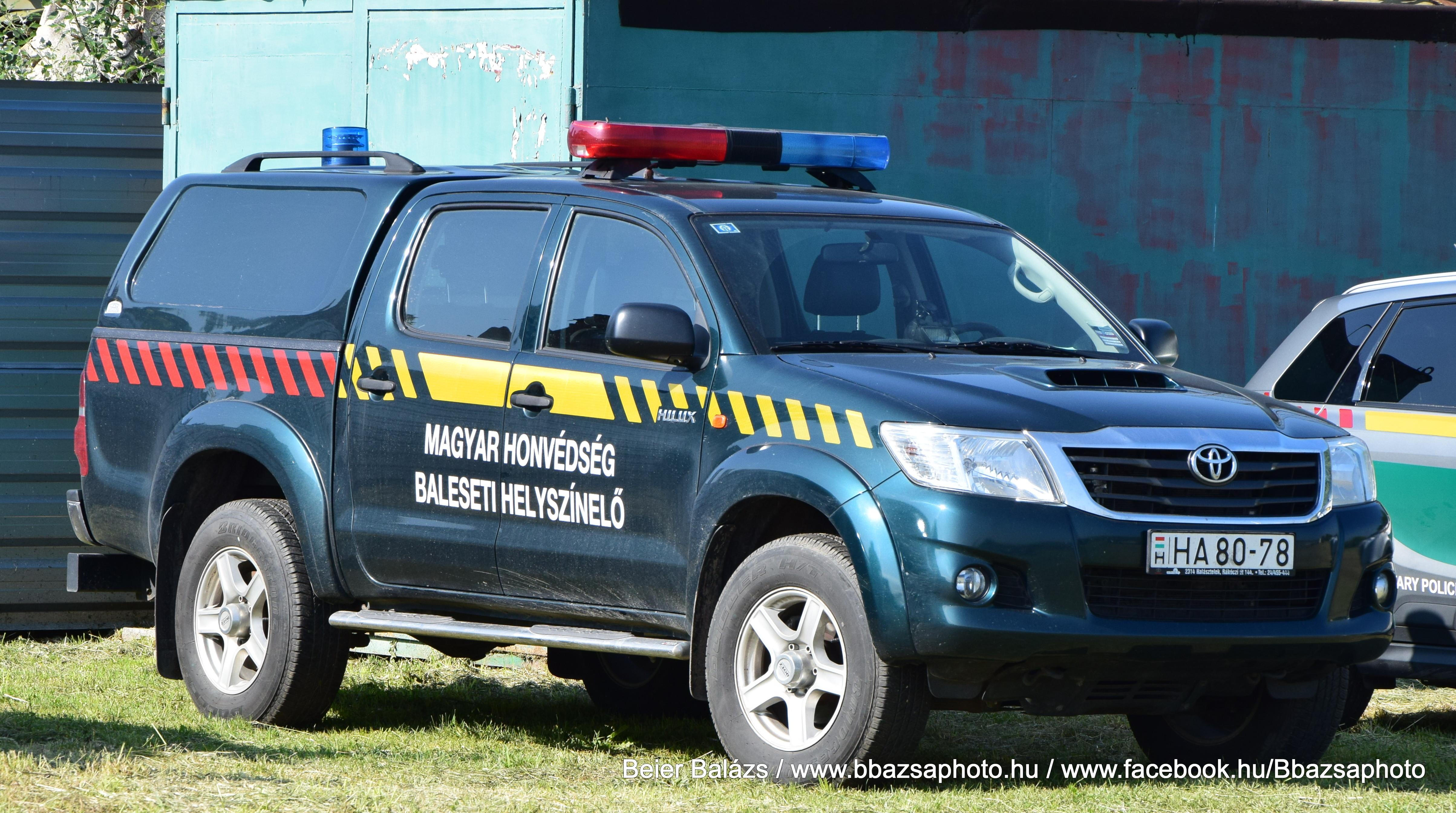 Toyota Hilux – Baleseti helyszínelő