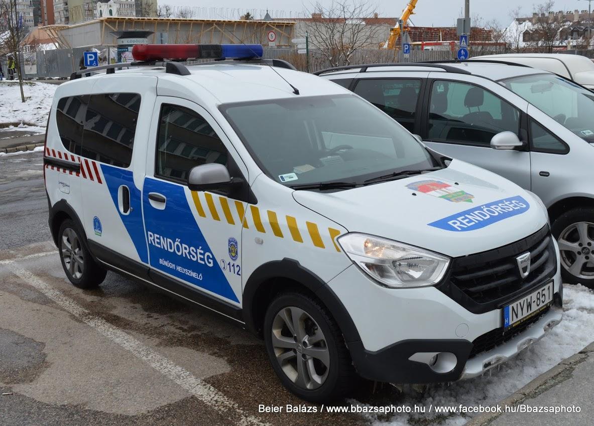 Dacia Dokker – Gödöllöi Rendőrség
