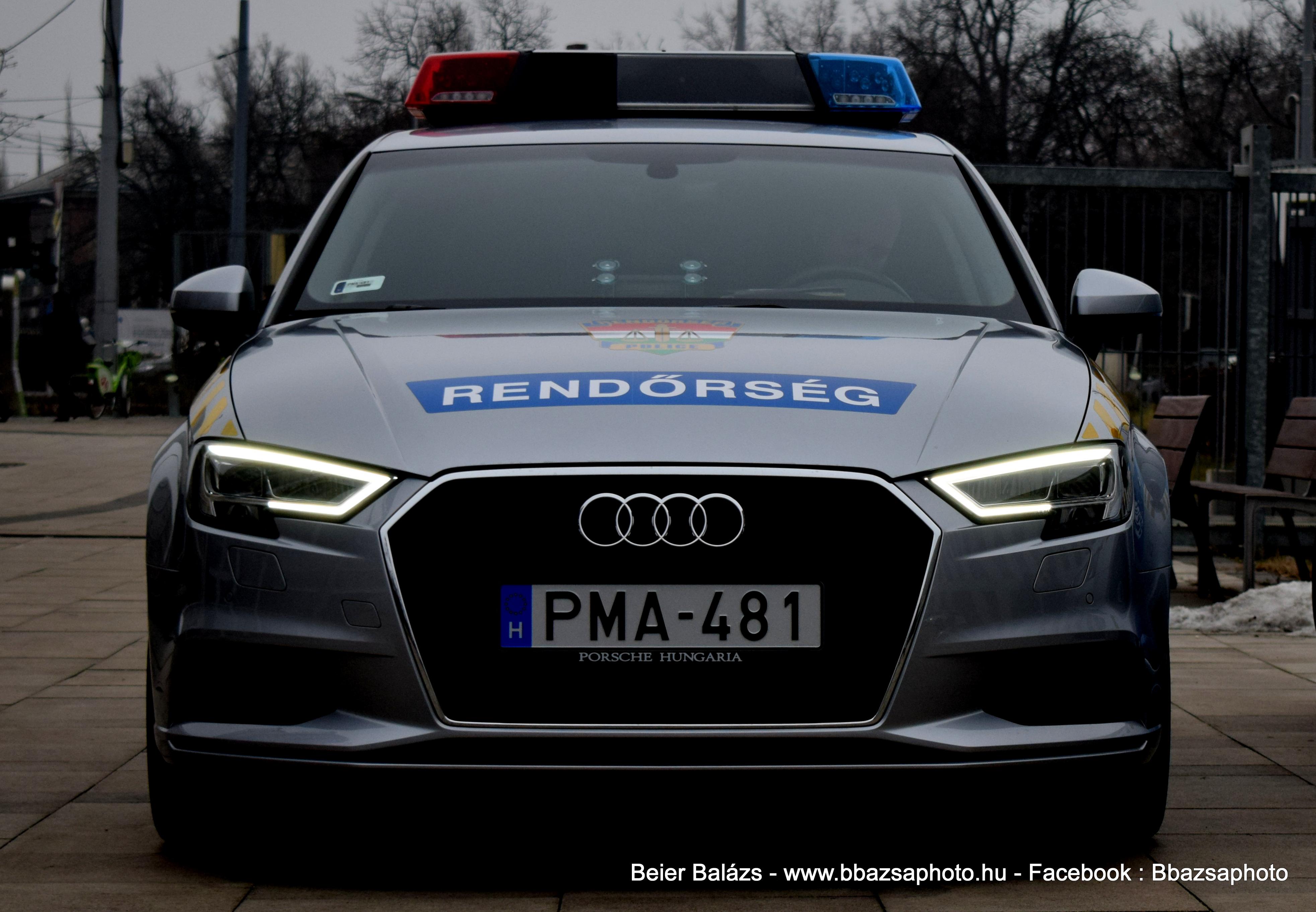 Audi A3 – Készenléti Rendőrség Hella