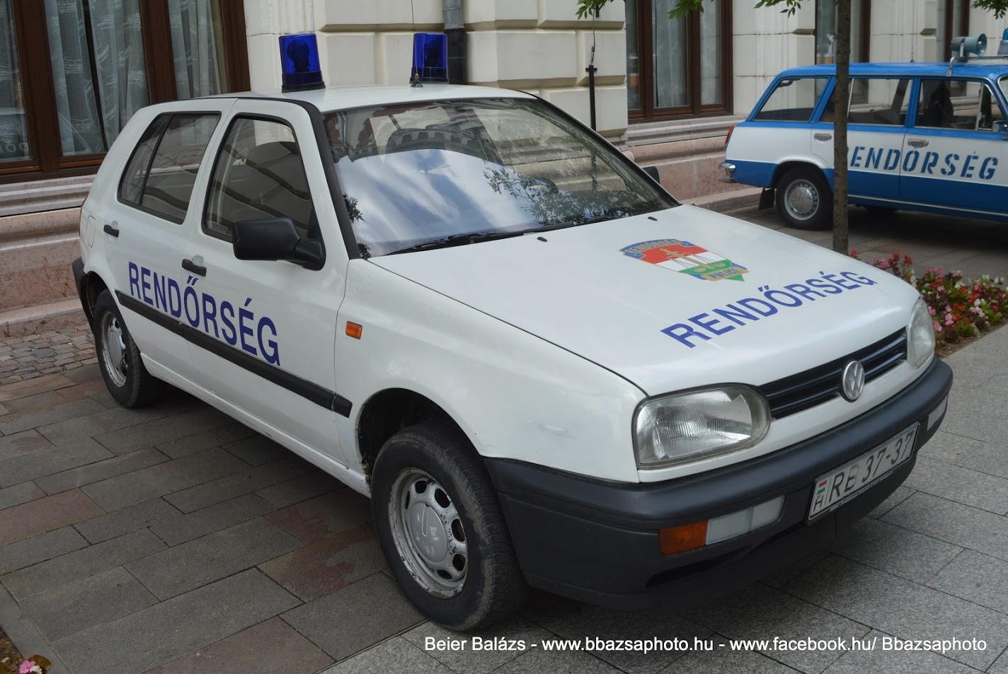 Volkswagen Golf III – Hagyományőrző Rendőrszázad