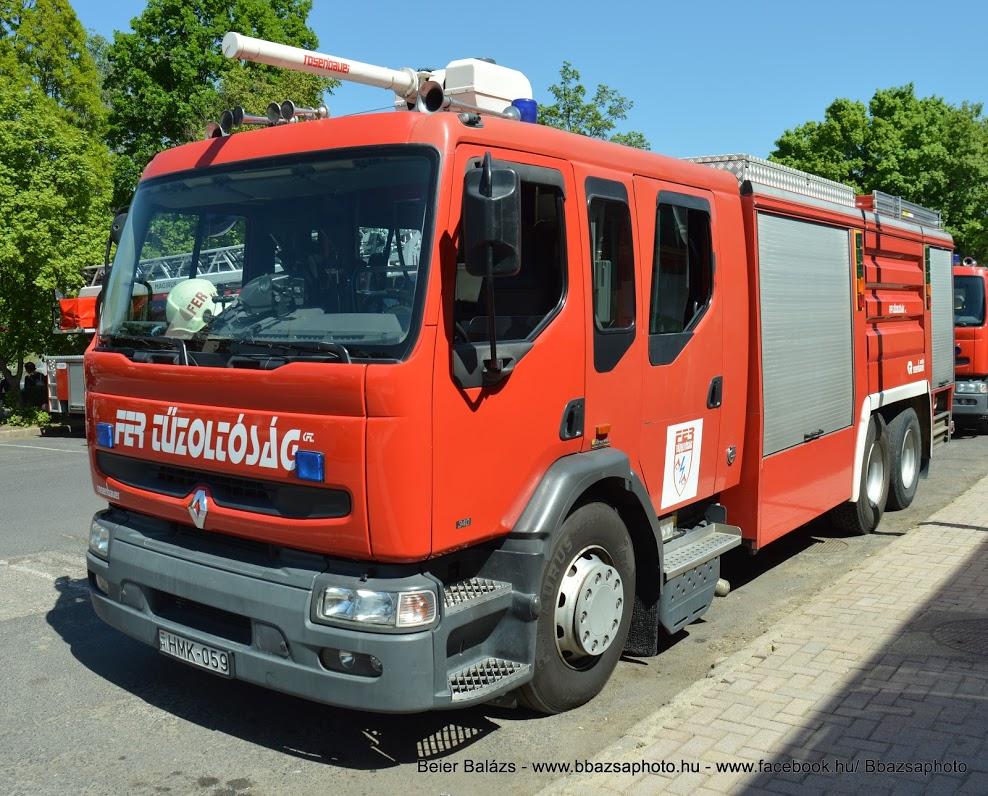 Renault Premium 340 Rosenbauer – FER Tiszaújváros
