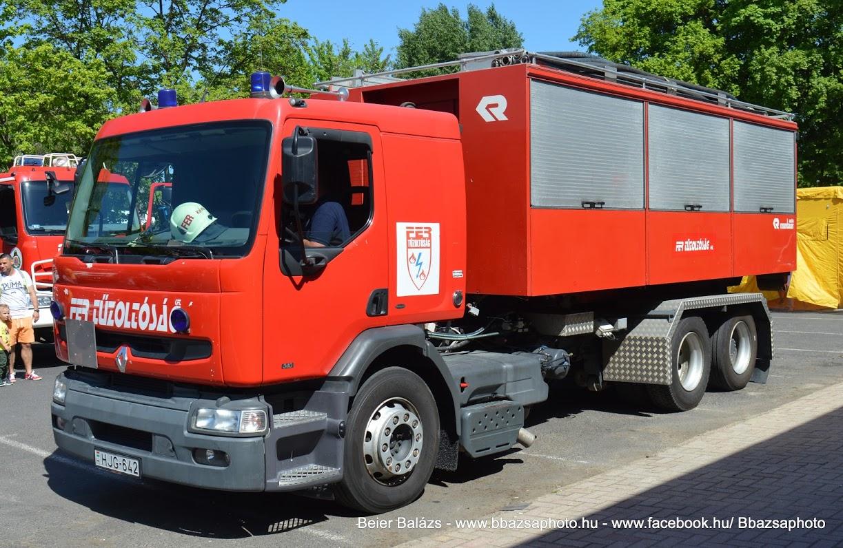 Renault Premium – konténerhordozó – FER Tiszaújváros