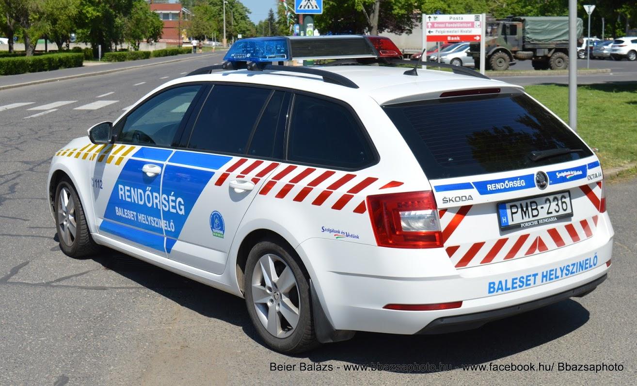 Skoda Octavia III facelift – Baleseti helyszínelő