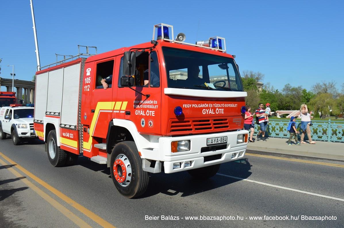 STEYR 16S26 Rosenbauer TLF 4000 – Gyál