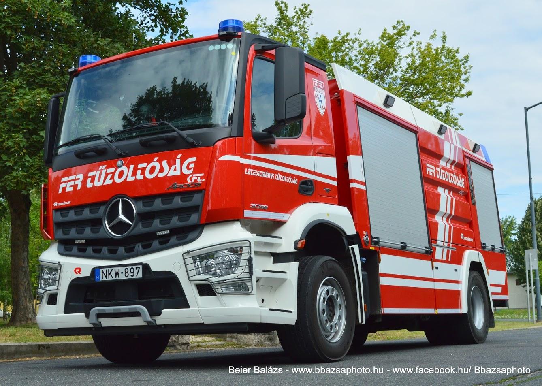 Mercedes Arocs 2036 Rosenbauer – FER Komárom