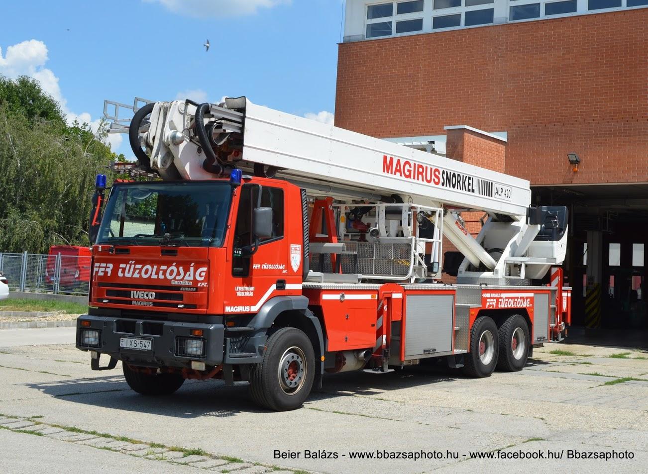 Iveco Eurofire Cursor 440 Magirus ALP420 – FER