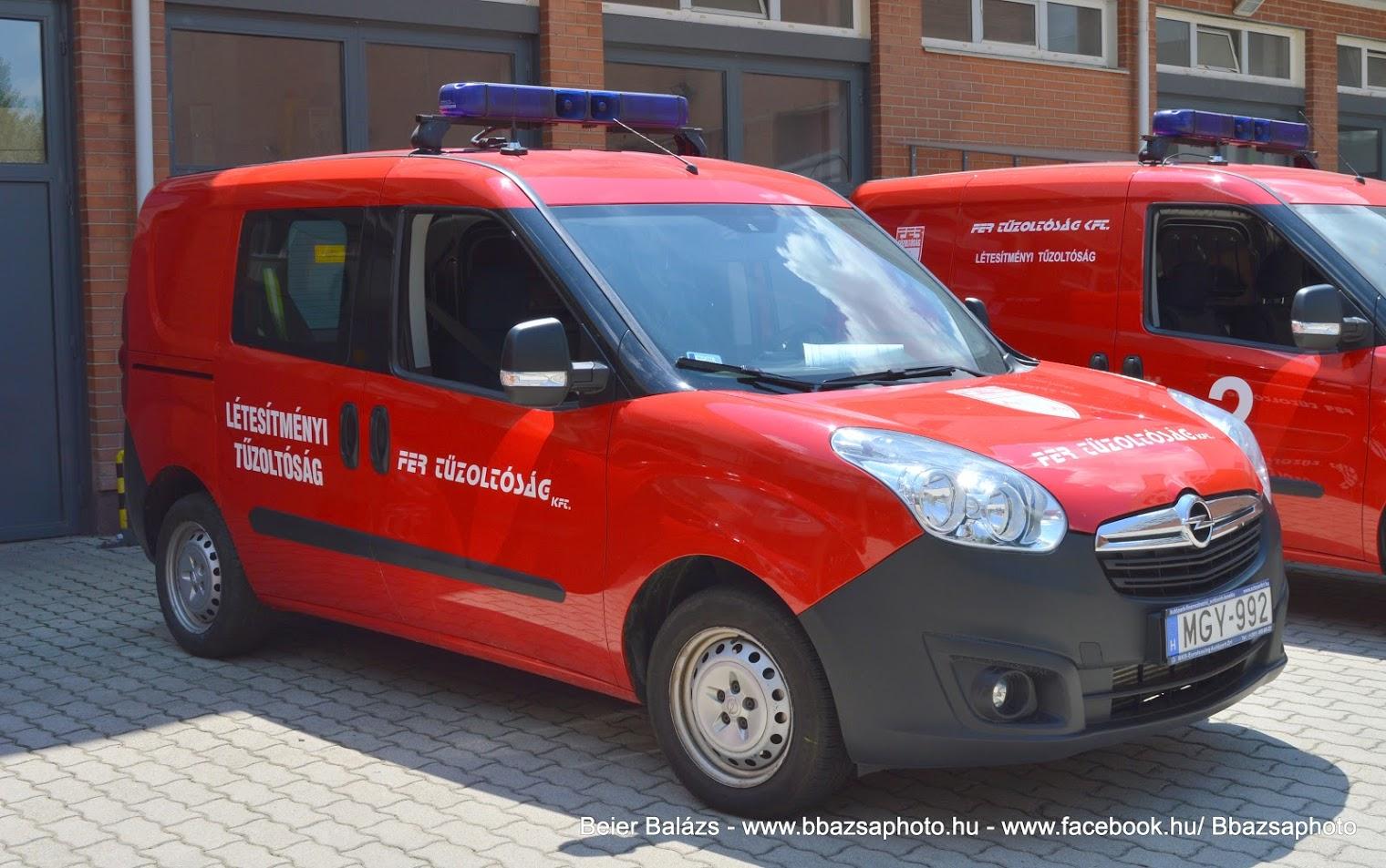 Opel Combo – FER Százhalombatta