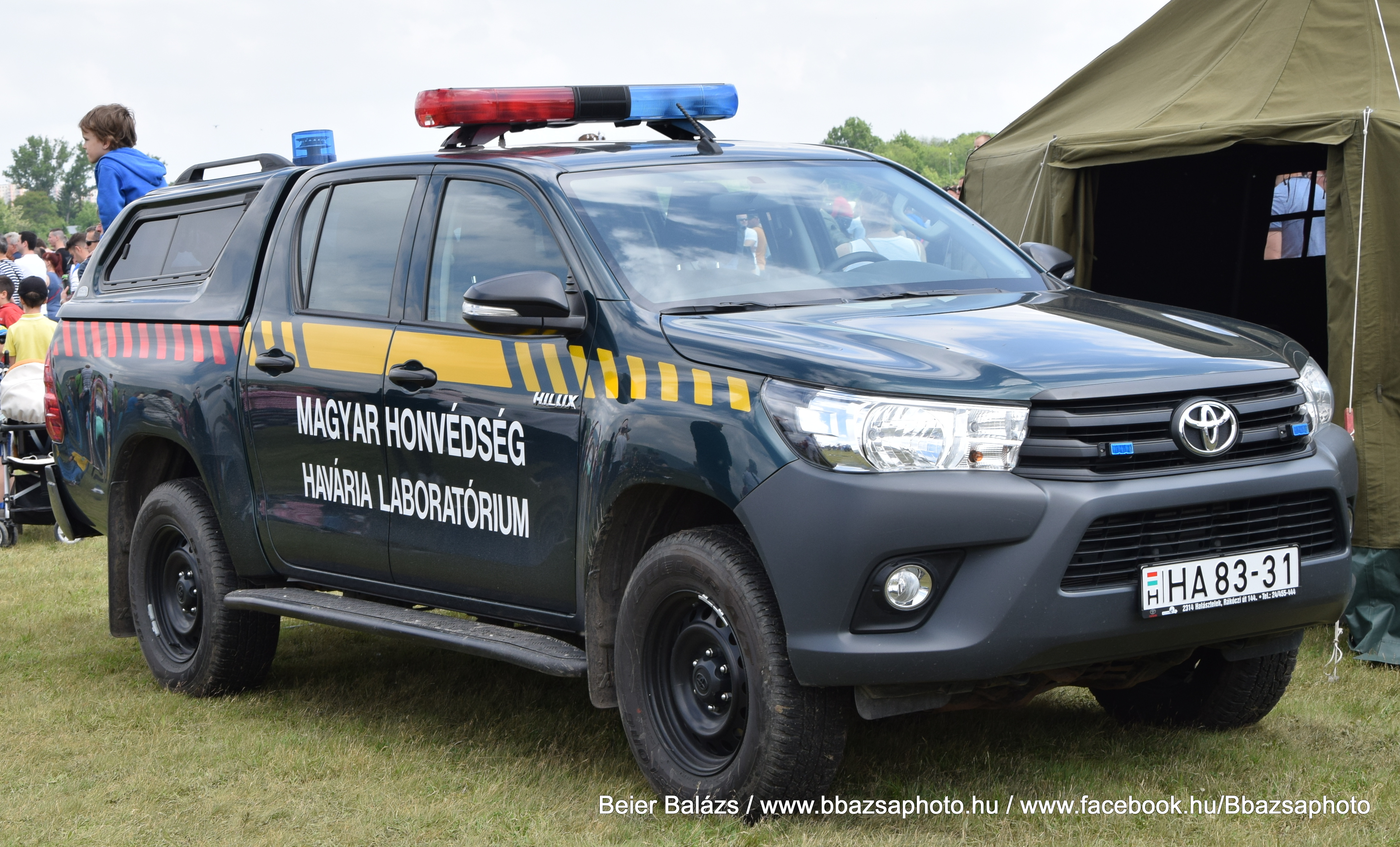 Toyota Hilux – Havária Laboratórium