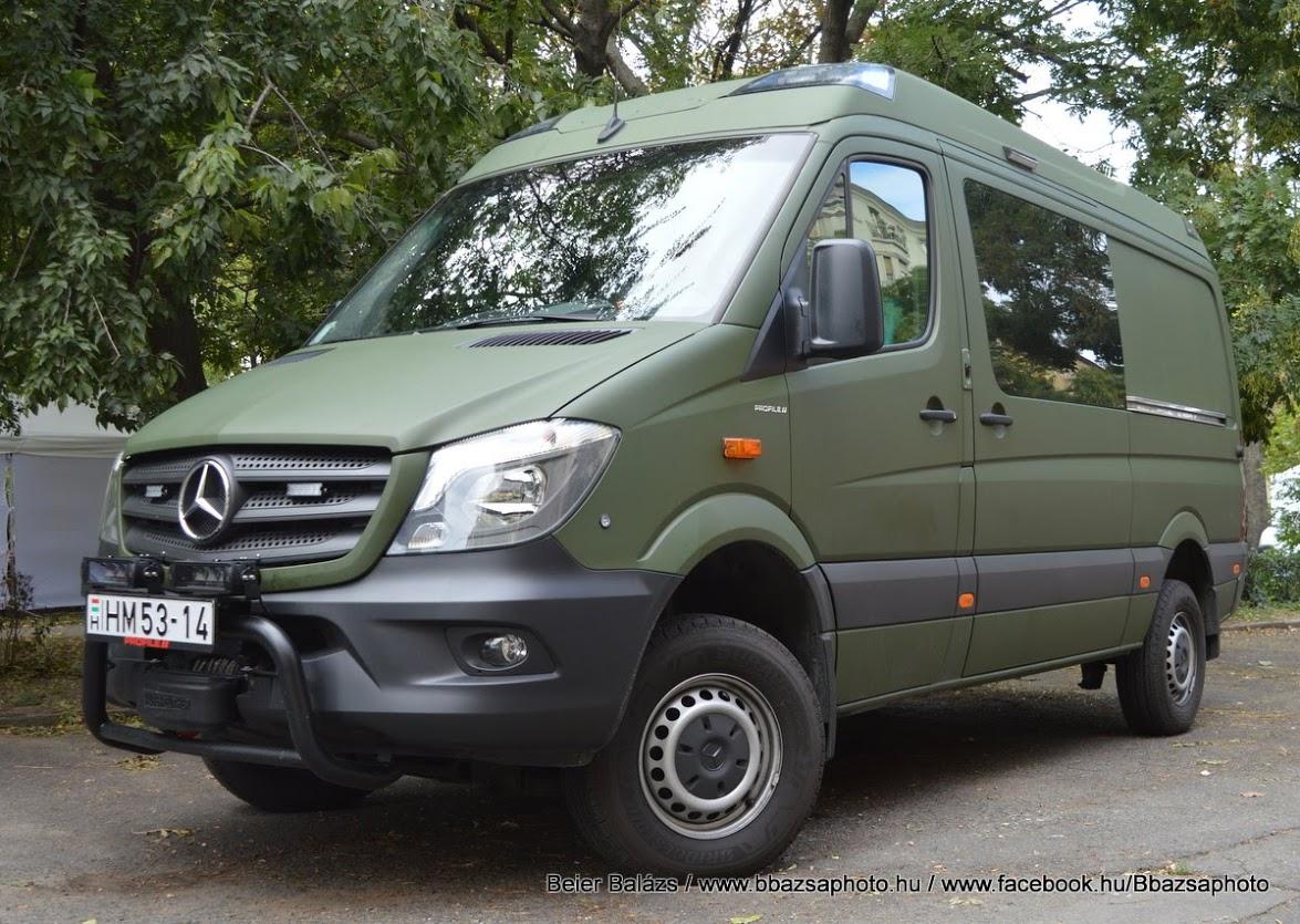 Mercedes Sprinter Profile – MH Eü központ