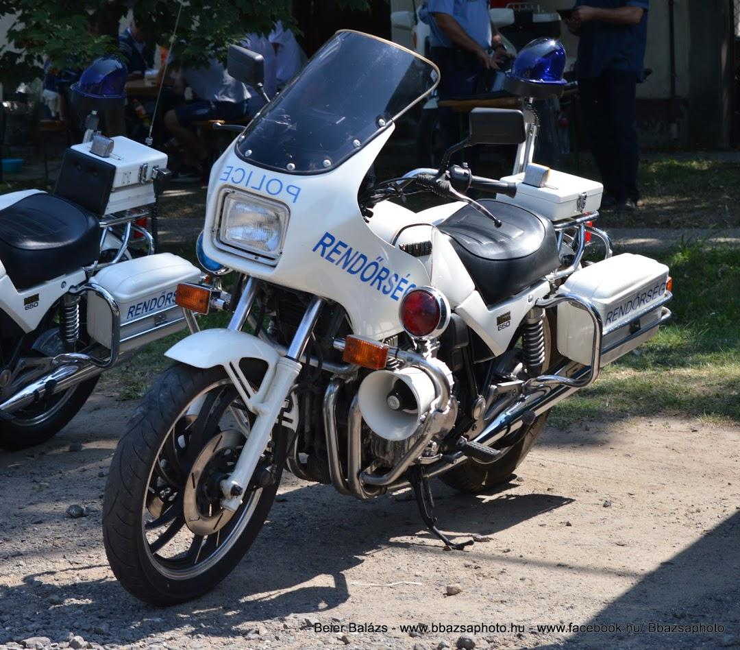 Yamaha 650 Police