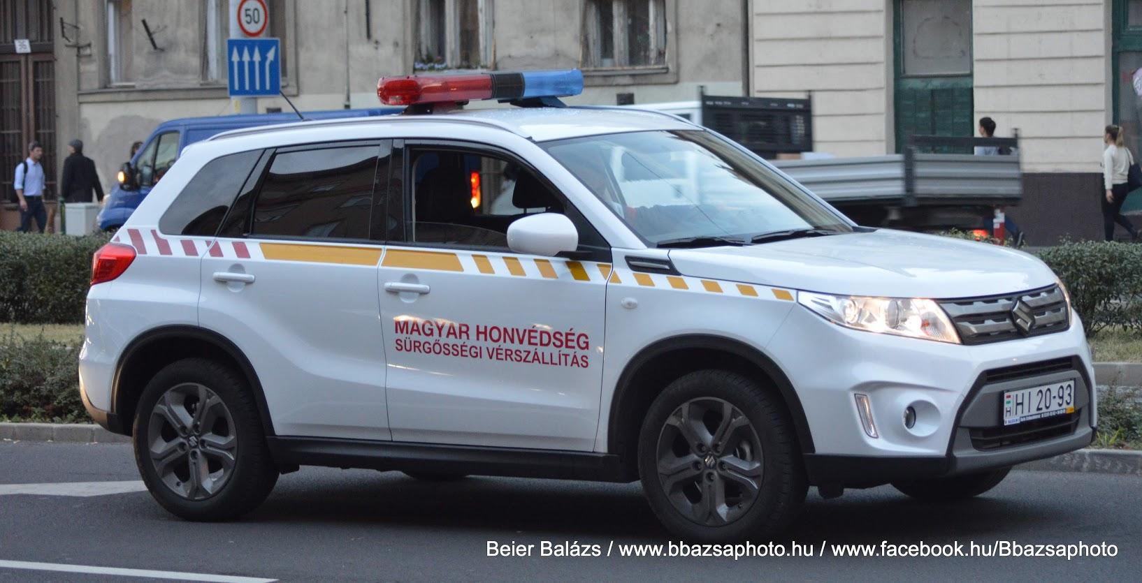 Suzuki Vitara – EÜ szolgálat vérszállítás