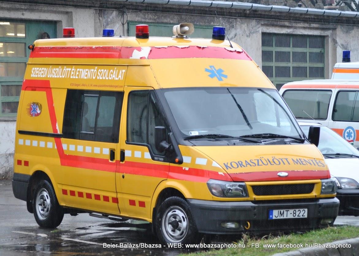 Ford Transit – Szeged koraszülött alapítvány